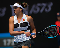 January 17, 2019 - Melbourne, AUSTRALIA - Madison Keys of the United States in action during her second-round match at the 2019 Australian Open Grand Slam tennis tournament (Credit Image: © AFP7 via ZUMA Wire)