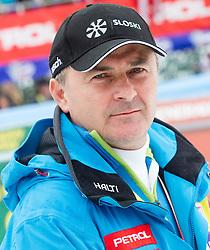 Primoz Ulaga, president of SZS during 2nd Run of the 10th Men's Slalom - Pokal Vitranc 2013 of FIS Alpine Ski World Cup 2012/2013, on March 10, 2013 in Vitranc, Kranjska Gora, Slovenia. (Photo By Vid Ponikvar / Sportida.com)