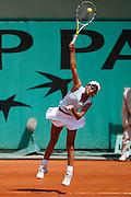 Roland Garros. Paris, France. May 29th 2007. 1st round..Milagros SEQUERA against Virginie RAZZANO