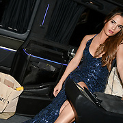 Nicole Bass arrivers at The 5th annual fundraiser benefiting Teens Unite, an organization which brings together young people with cancer to tackle loneliness and isolation. The charity's co-founder Karen Millen OBE designs and directs the event at Dorchester Hotel on 30 November 2018, London, UK.