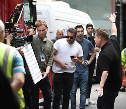 James Corden during filming for The Late Late Show, at Methodist Central Hall, London.