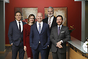 SHOT 1/8/19 12:24:15 PM - Bachus & Schanker LLC lawyers James Olsen, Maaren Johnson, J. Kyle Bachus, Darin Schanker and Andrew Quisenberry in their downtown Denver, Co. offices. The law firm specializes in car accidents, personal injury cases, consumer rights, class action suits and much more. (Photo by Marc Piscotty / © 2018)