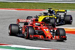 October 21, 2018 - Austin, United States - Motorsports: FIA Formula One World Championship; 2018; Grand Prix; United States, FORMULA 1 PIRELLI 2018 UNITED S GRAND PRIX , Circuit of The Americas , #5 Sebastian Vettel (GER, Scuderia Ferrari) (Credit Image: © Hoch Zwei via ZUMA Wire)