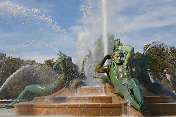 Swann Memorial Fountain in Philadelphia, PA