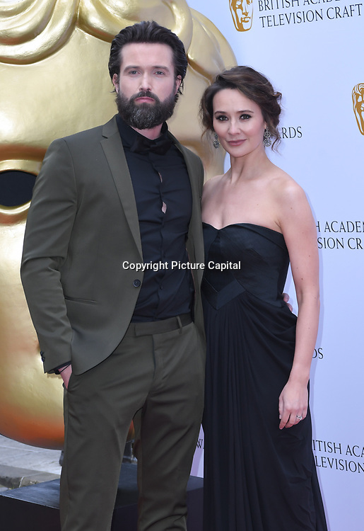 Emmett J. Scanlan and Claire Cooper Arrivers at the British Academy Television Craft Awards on 28 April 2019, London, UK.