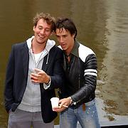 NLD/Amsterdam/20050808 - Deelnemers Sterrenslag 2005, Aram van der Rest en Erik Bouwman