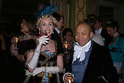 Magdelina Manville and Sammy Lee. War and Peace charity Ball, Dorchester Hotel. Park Lane. London. 17 February 2005. ONE TIME USE ONLY - DO NOT ARCHIVE  © Copyright Photograph by Dafydd Jones 66 Stockwell Park Rd. London SW9 0DA Tel 020 7733 0108 www.dafjones.com
