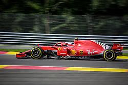 August 24, 2018 - Spa Francorchamps, Belgique - Raikkonen N°7 Ferrari (Credit Image: © Panoramic via ZUMA Press)