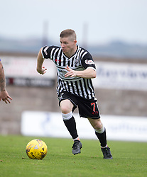 Elgin City's Marc McKenzie.   <br /> East Fife 2 v 1 Elgin City, Ladbrokes Scottish Football League Division Two game played 22/8/2015 at East Fife's home ground, Bayview Stadium.