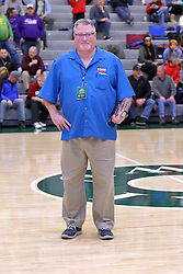 30 December 2016: Jeff Findley.North Lawndale v Mahomet Seymour, State Farm Holiday Classic Coed Basketball Tournament at Shirk Center, Bloomington Illinois