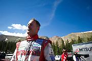 June 26-30 - Pikes Peak Colorado.  Greg Tracy after Pikes Peak practice.
