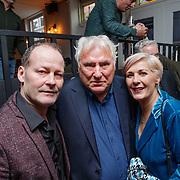 NLD/Amsterdam/20190308 - Boekpresentatie Gerard van der Lem, Gerard met Danny Blind en partner Yvonne