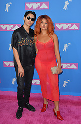 August 20, 2018 - New York, New York, United States - Lion Babe arriving at the 2018 MTV Video Music Awards at Radio City Music Hall on August 20, 2018 in New York City  (Credit Image: © Kristin Callahan/Ace Pictures via ZUMA Press)