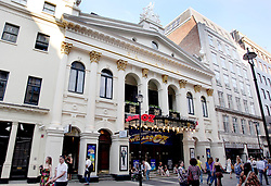 22 April 2011. London, England..The London Palladium theatre in London's West End..Photo; Charlie Varley.