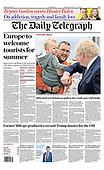 May 04, 2021 - UK: Front-page: Today's Newspapers In United Kingdom
