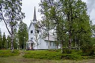 VILDMARKSVÄGEN JULI 2020<br /> Ankarede kyrka under helgens tur efter Vildmarksvägen.<br /> Foto: Per Danielsson/Projekt.P