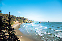 Ecola State Park, Cannon Beach, Oregon.