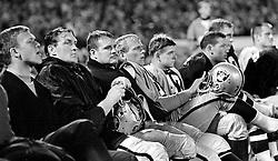 Oakland Raider bench 1967. (photo/Ron Riesterer)
