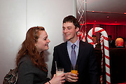 KATHRYN BLAIR; JONATHAN , English National BalletÕs annual pre-show party at the St. Martin's Lane hotel before a performance of the Nutcracker at the Coliseum. 15 December 2010. <br />  -DO NOT ARCHIVE-© Copyright Photograph by Dafydd Jones. 248 Clapham Rd. London SW9 0PZ. Tel 0207 820 0771. www.dafjones.com.<br /> KATHRYN BLAIR; JONATHAN , English National Ballet's annual pre-show party at the St. Martin's Lane hotel before a performance of the Nutcracker at the Coliseum. 15 December 2010. <br />  -DO NOT ARCHIVE-© Copyright Photograph by Dafydd Jones. 248 Clapham Rd. London SW9 0PZ. Tel 0207 820 0771. www.dafjones.com.