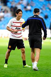Manchester United's Shinji Kagawa - Photo mandatory by-line: Dougie Allward/JMP - Tel: Mobile: 07966 386802 22/09/2013 - SPORT - FOOTBALL - City of Manchester Stadium - Manchester - Manchester City V Manchester United - Barclays Premier League