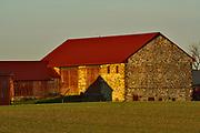 Stone barn, rural Berks County, PA,
