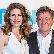 NLD/Amsterdam/20161005 - Filmpremiere Tonio, Rifka Lodeizen en Pierre Bokma