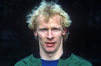 Derek Spence, footballer, international, N Ireland, 19820223014DS1.<br /> <br /> Copyright Image from Victor Patterson, Belfast, UK<br /> <br /> t: +44 28 9066 1296 (from Rep of Ireland 048 9066 1296)<br /> m: +44 7802 353836<br /> e: victorpattersonbelfast@gmail.com<br /> <br /> www.images4media.com<br /> <br /> Please see my full Terms and Conditions of Use at https://www.images4media.com/p/terms-conditions - it is IMPORTANT that you familiarise yourself with them.<br /> <br /> Images used online incur an additional cost. This cost should be agreed in writing in advance. Online images must be visibly watermarked i.e. © Victor Patterson or that of the named photographer within the body of the image. The original metadata must not be deleted from images used online.<br /> <br /> This image is only available for the use of the download recipient i.e. television station, newspaper, magazine, book publisher, etc, and must not be passed on to a third party. It is also downloaded on condition that each and every usage is notified within 7 days to victorpattersonbelfast@gmail.com.<br /> <br /> The right of Victor Patterson (or the named photographer) to be identified as the author is asserted in accordance with The Copyright Designs And Patents Act (1988). All moral rights are asserted.