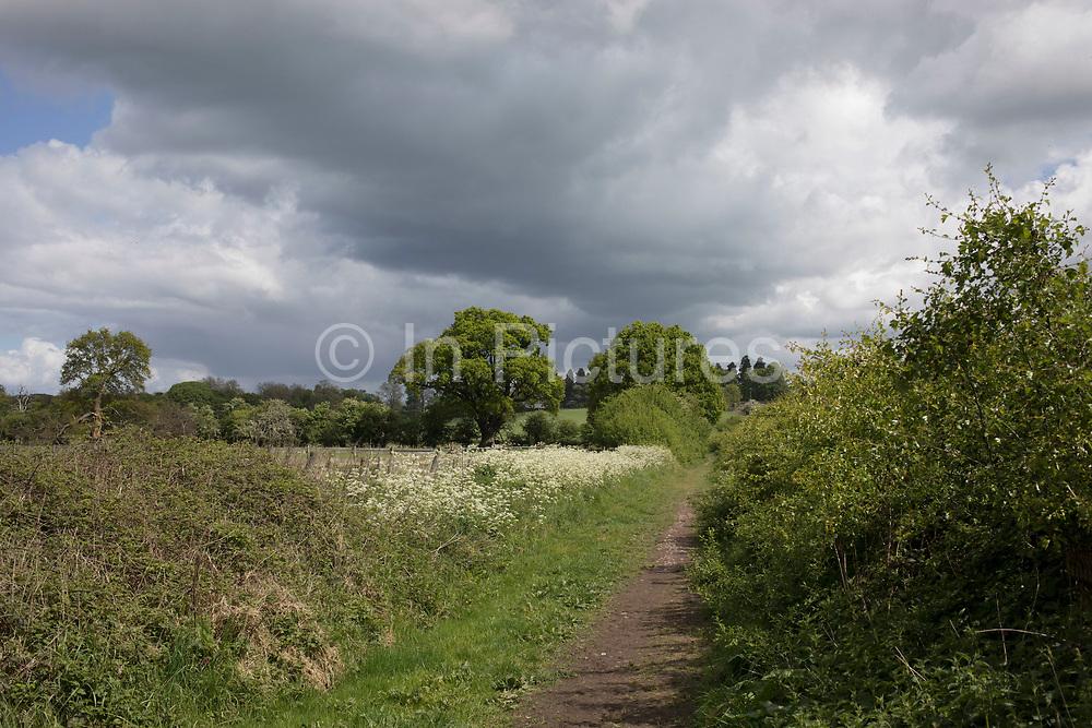 British countryside near Studley, Warwickshire, England, United Kingdom.