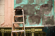 Colorful wall, Havana, Cuba
