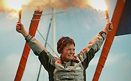 Yachtswoman Ellen MacArthur returns triumphantly to Falmouth in Cornwall today Tuesday 8th February, 2005 after becoming the fastest person to circumnavigate to world in a yacht. She broke the previous record held by Frenchman Francis Joyon by 28 hours.