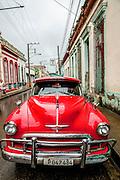 Santa Clara, Cuba vintage car