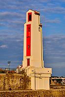 France, Pyrénées-Atlantiques (64), Pays Basque, Saint-Jean-de-Luz, phare construit d'après les plans de André Pavlovsky en 1936 // France, Pyrénées-Atlantiques (64), Basque Country, Saint-Jean-de-Luz, lighthouse built according to the plans of André Pavlovsky in 1936