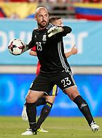 Spain's Pepe Reina during international friendly match. June 7,2017.(ALTERPHOTOS/Acero)