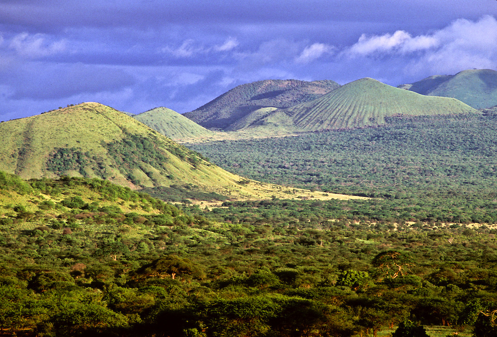 A view from the Rift Valley in Kenya.