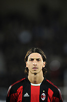 FOOTBALL - CHAMPIONS LEAGUE 2010/2011 - GROUP STAGE - GROUP G - AJ AUXERRE v MILAN AC - 23/11/2010 - PHOTO FRANCK FAUGERE / DPPI - ZLATAN IBRAHIMOVIC (MIL)