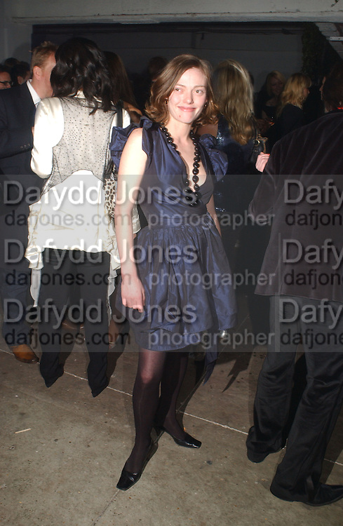 Camilla Rutherford. ELLE Style Awards 2006, at the Atlantis Gallery.The Old Truman Brewery, Brick Lane. London. 20 February 2006 ONE TIME USE ONLY - DO NOT ARCHIVE  © Copyright Photograph by Dafydd Jones 66 Stockwell Park Rd. London SW9 0DA Tel 020 7733 0108 www.dafjones.com