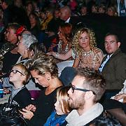 NLD/Amsterdam/20121209 - Premiere K3 Bengeltjes, Josje Huisman en partner Johnny de Mol Jr.