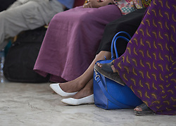© Licensed to London News Pictures. 4/08/2015. Hargeisa, Somaliland.  Over 700 people are expected to attend the 8th International Hargeisa Book Festival in the Republic of Somaliland this week (1 - 6 Aug).   <br /> <br /> The festival combines renowned poets, writers and musicians from both Somaliland, Nigeria and the UK.  As well as the book fair the Women of the World (WOW) event, hosted by Jude Kelly, the Artistic Director of the Southbank Centre in London was held for the first time in the Horn of Africa.   Photo credit : Alison Baskerville/LNP