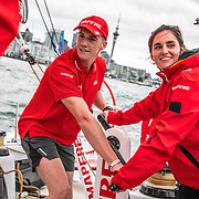 Auckland stopover, Peroni Pro-Am Race on board MAPFRE. 16 March, 2018.
