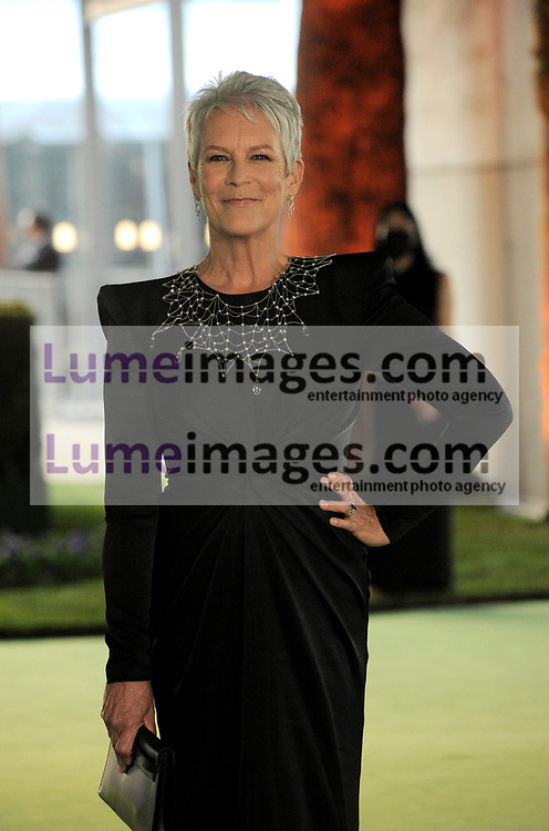 Jamie Lee Curtis at the Academy Museum of Motion Pictures Opening Gala held in Los Angeles, USA on September 25, 2021.