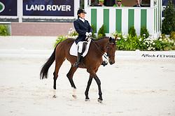 Nina Anufrieva, (RUS), Elastika - Individual Test Grade Ib Para Dressage - Alltech FEI World Equestrian Games™ 2014 - Normandy, France.<br /> © Hippo Foto Team - Jon Stroud <br /> 25/06/14