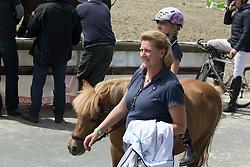 Laeremans Regine (BEL)<br /> SBB Competitie Jonge Paarden - Nationaal Kampioenschap - Kieldrecht 2014<br /> © Dirk Caremans
