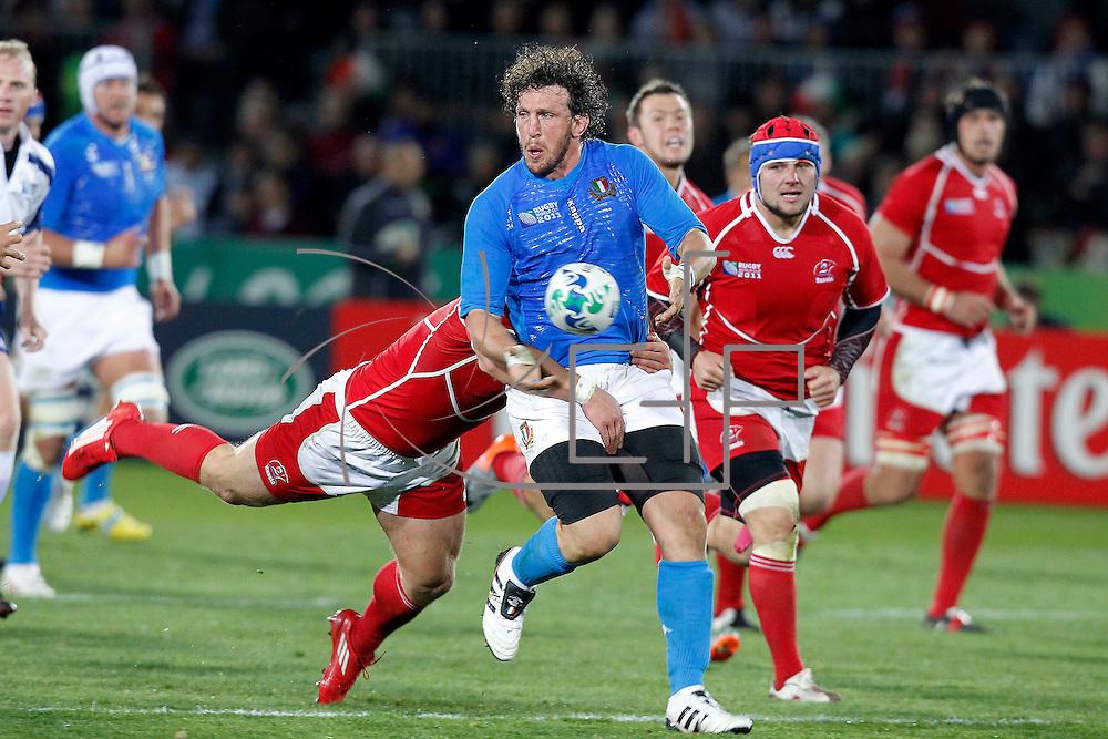 Nelson 20/09/2011 Trafalgar Park <br /> Rugby World Cup : Italy vs Russia<br /> Mauro Bergamasco