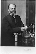 Emil Fischer (1852-1919) German chemist: Nobel prize for chemistry 1904.