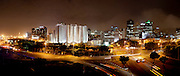 Cape Town City at night. Stitched Panoramic Images taken in and around Cape Town Images by Greg Beadle