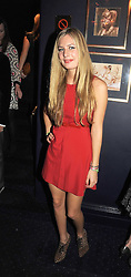 TANSY ASPINALL at the Tatler Magazine Little Black Book party at Tramp, 40 Jermyn Street, London SW1 on 5th November 2008.