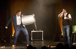 "21.11.2016, Schubert Theater, Wien, AUT, Zaubershow, Die Ehrlichen Betrüger - Catch Us If You Can, im Bild Paul Sommersguter, Philipp Tawfik // during the magic show ""Die Ehrlichen Betrüger - Catch Us If You Can"" at the Schubert Theater, Vienna, Austria on 2016/11/21, EXPA Pictures © 2016, PhotoCredit: EXPA/ Sebastian Pucher"