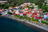France, Martinique, le port de Case-Pilote // France, West Indies, Martinique, Case-Pilote port