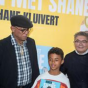 NLD/Muiden/20180325 - Boekpresentatie koken met Shane Kluivert, opa Kluivert Kenneth Ramon Kluivert,  Shane Kluivert en opa Lima