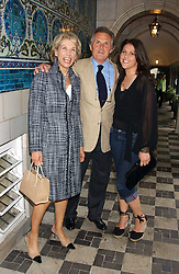 Left to right, LORD & LADY HINDLIP and their daughter the HON.SOPHIE ALLSOPP at the No Campaign's Summer Party - a celebration of the 'Non' and 'Nee' votes in the Europen referendum in France and The Netherlands held at The Peacock House, 8 Addison Road, London W14 on 5th July 2005.<br /><br />NON EXCLUSIVE - WORLD RIGHTS